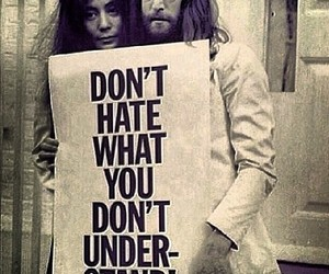 john lennon, quotes, and Yoko Ono image