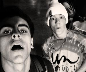taylor caniff, jack gilinsky, and magcon image