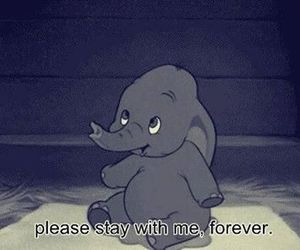disney, forever, and dumbo image