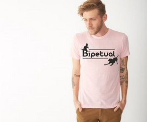 t-shirt and cat lover image