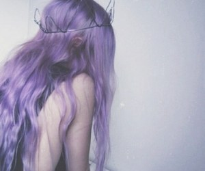 goth, hair, and photography image