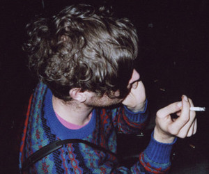 boy, cigarette, and indie image