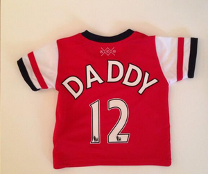 12, Arsenal, and daddy image