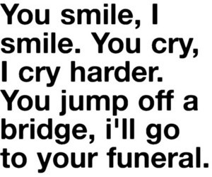 funny, cry, and smile image
