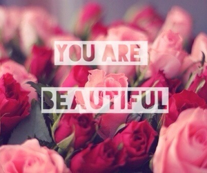 love, beautiful, and flowers image