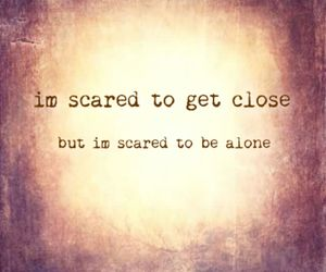 alone, fear, and inspiration image
