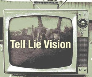lies, tv, and television image
