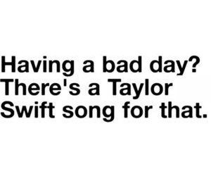 Taylor Swift and text image