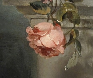 rose, art, and flowers image