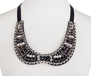 collar, collar necklace, and fashion necklace image