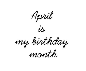 april and birthday image