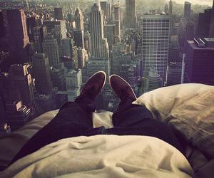 city, boy, and new york image