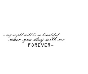 forever, quote, and world image