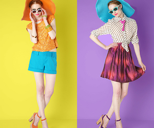 alice, colorful, and alice and olivia image