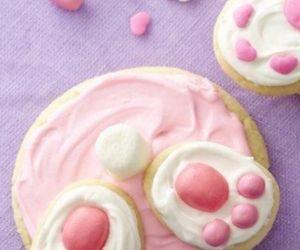 food, pink, and Cookies image