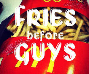 fries, funny, and joke image