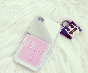 dior, girl, and pink image