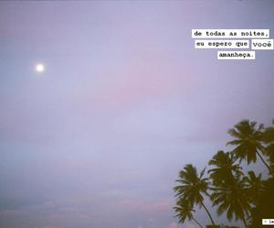 moon, nigth, and sunrise image