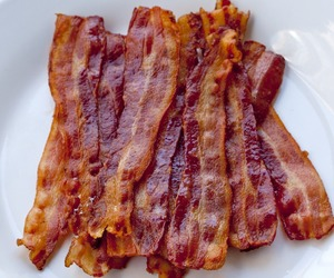 bacon, food, and delicious image