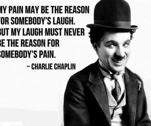 quote, charlie chaplin, and laugh image