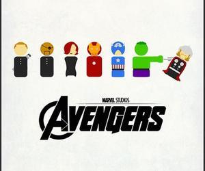 Avengers, thor, and Hulk image