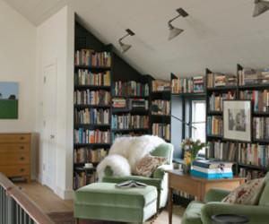 books, decor, and room image
