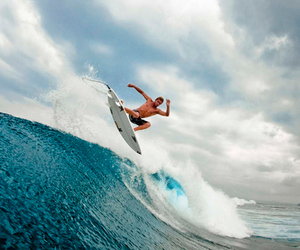 surf, waves, and photography image