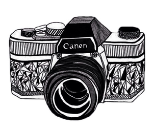 overlay, canon, and camera image