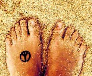 peace and tattoo image