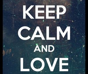 keep calm, divergent, and love image