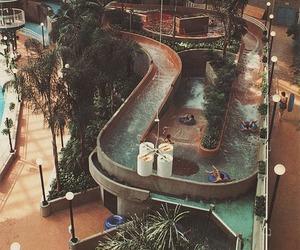 fun, pool, and water image
