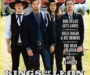cover, rock band, and kings of leon image