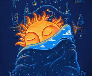awesome, blue, and kawaii image