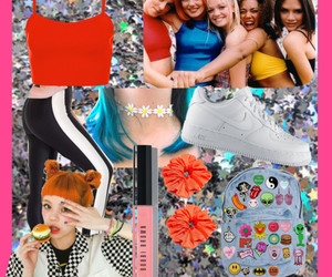 90s, sporty, and Polyvore image