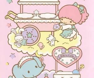 sanrio, kiki&lala, and little twin stars image