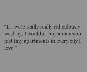 quote, apartment, and love image