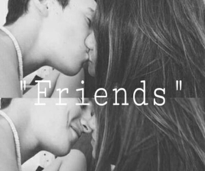 just friends, kiss, and pasion image