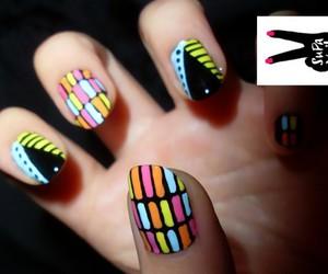 nail art, nails, and supa nails image