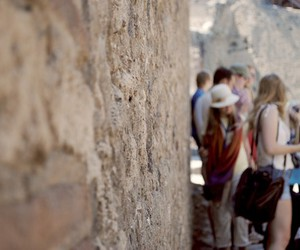 italy, people, and pompeii image