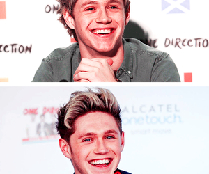 smile, 1d, and niall image