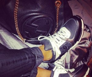 chanel, shoes, and gucci image