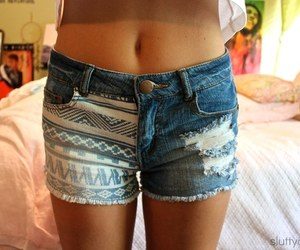 clothes, cool, and shorts image