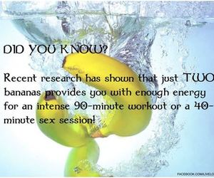 banana, fit, and fitness image