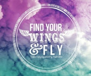 away, fly, and free image