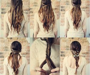 hair, hair tutorial, and tutorial image