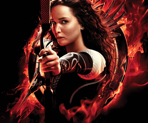 Jennifer Lawrence, catching fire, and katniss image