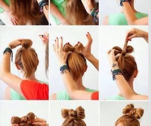 bow, braid, and diy image
