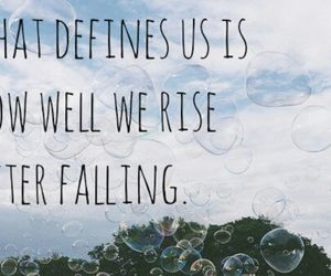be strong, falling, and quotes image