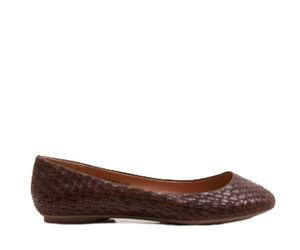 brown, casual, and flats image