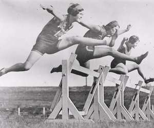 sport and vintage image